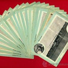 Postales: LOTE DE 19 POSTALES DE AVIONES ANTIGUOS ,CIRCUITO EUROPEO 1911, VER FOTOS, ANTIGUAS ORIGINALES. Lote 29575753