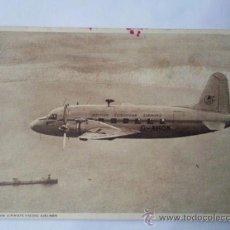 Postales: ANTIGUA POSTAL DE AVIONES , BRITISH EUROPEAN AIRWAYS VIKING AIRLINER. Lote 29669558