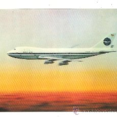 Postales: POSTAL PAN AMERICAN (TRIDIMENSIONAL) – BOEING 747. Lote 255920020
