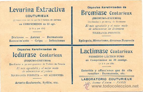 Postales: BLEIROT EN VOL, SIN CIRCULAR, REVERSO PUBLICITARIO, MAGNIFICA - Foto 2 - 30049595