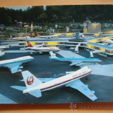 Postales: POSTAL MAQUETA AEROPUERTO DE LA HAYA, HOLANDA. AVIONES IBERIA, QANTAS, KLM. 1006. . Lote 31035598