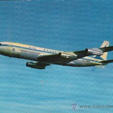Postales: BOEING 707 B INTERCONTINENTAL DE AIR FRANCE. Lote 31368224