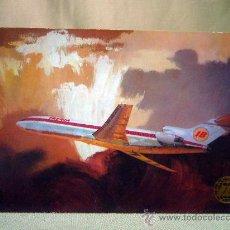 Postales: POSTAL, POSTAL PUBLICITARIA, IBERIA, BOEING 727. Lote 31878144