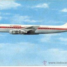 Postales: AVION DOUGLAS DC-8 IBERIA. Lote 31930038