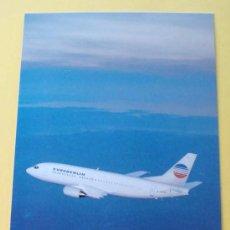 Postales: POSTAL DE AVIONES. AVIÓN BOEING 737 - 300. AEROLINEAS EUROBERLIN. FRANCIA - ALEMANIA. 1136 . Lote 32077075
