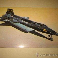 Postales: POSTAL TECNICA Nº 2 SERIE A MATERIAL AEREO 1 EL NORT AMERICAN X-15A-2. Lote 32813281