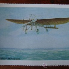 Postales: THE BLÉRIOT MONOPLANE. Lote 33722121