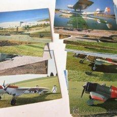 Postales: COLECCION DE 33 POSTALES DIFERENTES DEL MUSEO DEL AIRE DE CUATRO VIENTOS - 1981 AVIACION. Lote 35168312
