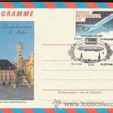 Postales: AUSTRIA 1990 - POSTAL CONMEMORATIVA- ZEPELIN- . Lote 37179982
