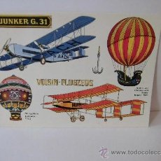 Postales: JUNKER G.31 VOISIN-FLUGZEUG. Lote 37619473