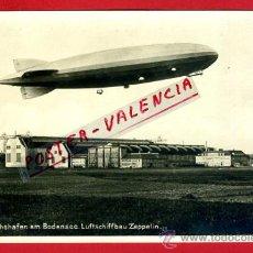Postales: POSTAL GLOBO ZEPPELIN , FOTOGRAFICA , ANTIGUA , ORIGINAL , P78429. Lote 38023256