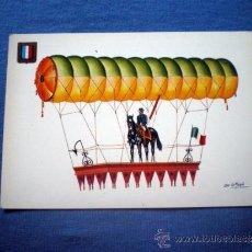 Postales: POSTAL LA CONQUISTA DEL ESPACIO Nº 3 GLOBO DE TETU BRISSY NO CIRCULADA. Lote 38045656