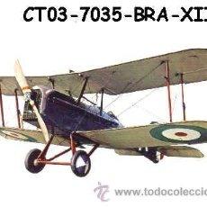Postales: ANTIGUA POSTAL AVION BIPLANO - S.E. 5ª BRITISH FIGHTER 1917 - (AÑOS 60) A ESTRENAR. Lote 38425137