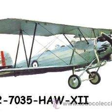 Postales: ANTIGUA POSTAL AVION BIPLANO - HAWKER TOMTIT 1929 - (AÑOS 60) A ESTRENAR. Lote 38425143