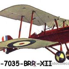 Postales: ANTIGUA POSTAL AVION BIPLANO - S.E. 5ª BRITISH FIGHTER 1917 - (AÑOS 60) A ESTRENAR. Lote 38425157