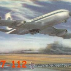 Postales: ANTIGUA POSTAL RELIEVE AVION AIRPLANE AMERICA AÑOS 60 A ESTRENAR*. Lote 38478191