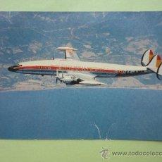 Postcards - IBERIA, AVIÓN SUPER G. CONSTELLATION. - 38666165