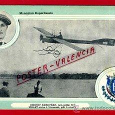 Postales: POSTAL AVION, AVIACION, CIRCUIT EUROPEEN 1911 , MONOPLAN DEPERDUSSIN , ORIGINAL, SIN CIRCULAR, A14. Lote 39223066