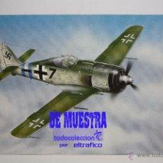 Postales: POSTALES AVION FOCKE WULF FW 190A - POSTAL AERO M. Lote 39811583