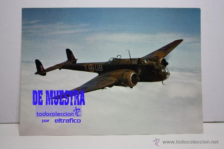 POSTALES AVION HANDLEY PAGE HAMPDEN 1 - POSTAL AERO M (Postales - Postales Temáticas - Aeroplanos, Zeppelines y Globos)