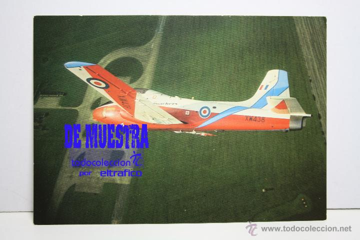 POSTALES AVION JET PROVOST T5 - POSTAL AERO M (Postales - Postales Temáticas - Aeroplanos, Zeppelines y Globos)