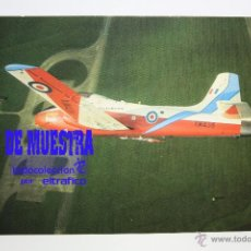 Postales: POSTALES AVION JET PROVOST T5 - POSTAL AERO M. Lote 39811609