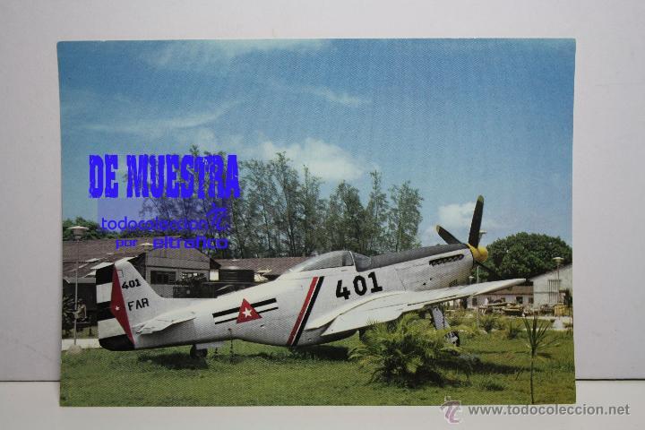 POSTALES AVION MUSTANG P-51D - POSTAL AERO M (Postales - Postales Temáticas - Aeroplanos, Zeppelines y Globos)