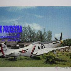 Postales: POSTALES AVION MUSTANG P-51D - POSTAL AERO M. Lote 39811645