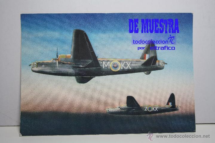 POSTALES AVION VICKERS WELLINGTON B MK I - POSTAL AERO M (Postales - Postales Temáticas - Aeroplanos, Zeppelines y Globos)