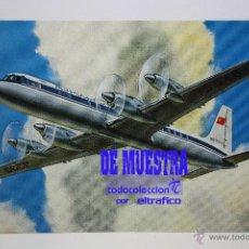 Postales: POSTALES AEROLINEA AEROFLOT RUSSIAN INTERNATIONAL AIRLINES - POSTAL AERO. Lote 179345772