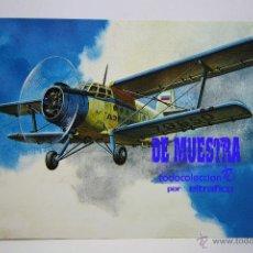 Postales: POSTALES AEROLINEA AEROFLOT RUSSIAN INTERNATIONAL AIRLINES - POSTAL AERO. Lote 226661315