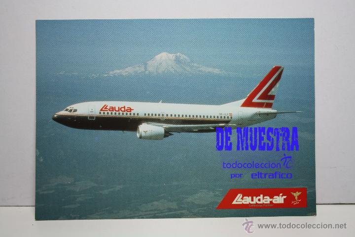 POSTALES AEROLINEA LAUDA AIR - BOEING 737-300 - POSTAL AERO (Postales - Postales Temáticas - Aeroplanos, Zeppelines y Globos)