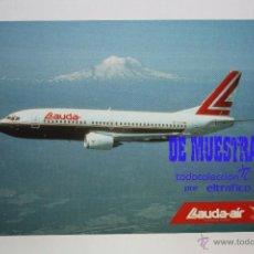 Postales: POSTALES AEROLINEA LAUDA AIR - BOEING 737-300 - POSTAL AERO. Lote 226660591