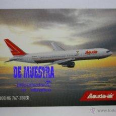 Postales: POSTALES AEROLINEA LAUDA AIR - BOEING 767-300 ER - POSTAL AERO. Lote 226660440