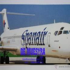 Postales: POSTALES AEROLINEA SPANAIR - MCDONALD DOUGLAS MD-83 - POSTAL AERO // DISPONIBLE:2. Lote 226660235