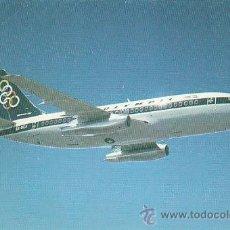 Postales: BOEING 737-200 DE OLYMPÌC AIRWAYS (AÑOS 60). Lote 40876850