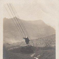 Postales: TRANSBORDADOR AEREO DE GRINDELWALD, SUIZA. Lote 41047103