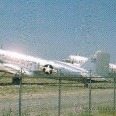 Postales: DOUGLAS C-47 GOONEY BIRDS, VERSION MILITAR DEL DOUGLAS DC-3. Lote 45368978