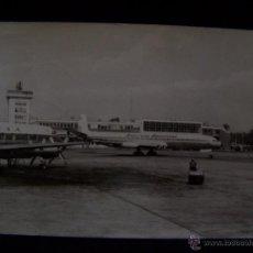 Postales: POSTAL AVIÓN CIRCULADA 1962 ED L.CLOOS FOTO HOPPEN AEROPUERTO FRANKFURT AEROLINEAS ARGENTINAS. Lote 41643778