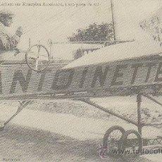 Postales: MH LATHAM SOBRE EL MONOPLANO ANTOINETTE (25-7-1900), ES UNA REPRODUCCION DE UNA POSTAL ANTIGUA. Lote 42792312