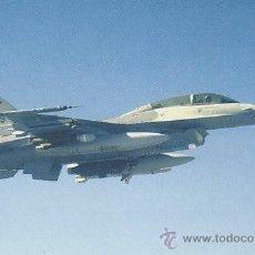 Postales: AVION F-16D FIGHTING FALCON. Lote 52029108
