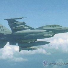 Postales: AVION F-16D FIGHTING FALCON. Lote 52029113