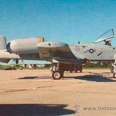 Postales: AVION A-10A WARTHOG. Lote 52029122