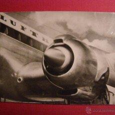 Postales: ANTIGUA POSTAL - LUFTHANSA - EINER DER 4 MOTOREN DER LOCKHEED SUPER G CONSTELLATION - NO ESCRITA. Lote 43149722