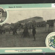 Postales: POSTAL AVIACION - PUBLICIDAD SOLUCION PATAUBERGE- REVERSO EN ESPAÑOL TARJETA POSTAL -(3415). Lote 43319714