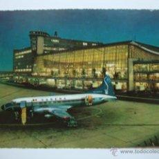 Postales: POSTAL DE AVION, AEROPUERTO BRUSELAS BRUXELLES, ORIGINAL AÑO 1970 LOT100. Lote 43810911