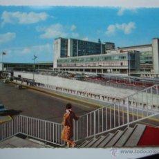 Postales: POSTAL DE AVION, AEROPUERTO BRUSELAS BRUXELLES, SELLO, ORIGINAL AÑO 1970 LOT100. Lote 43810932