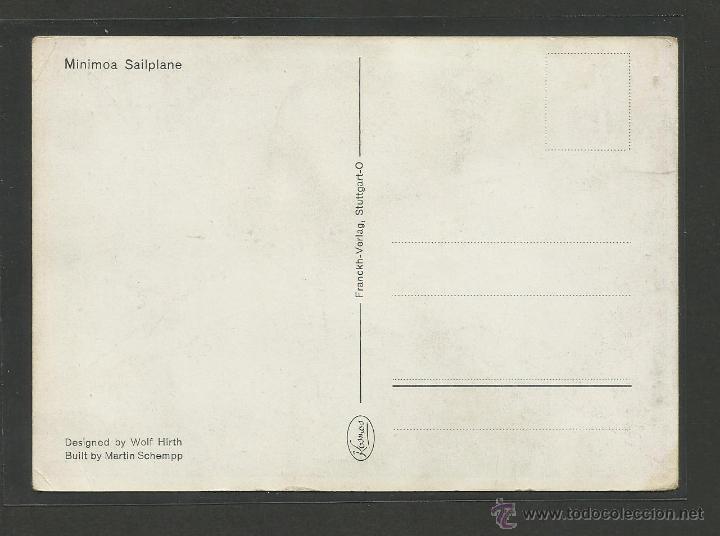 Postales: POSTAL VUELOS SIN MOTOR - ALEMANIA - (24044) - Foto 2 - 44419721