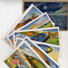 Postales: SERIE COMPLETA 6 POSTALES CATALANISTAS. AÑOS 1900S. LOCFON. A ESTRENAR. EN FUNDA ORIGINAL. Lote 45173072