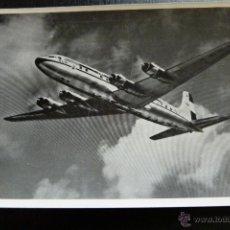 Postales: POSTAL DE AVIONES - AVION - DOUGLAS DC 6B - KLM. Lote 45409088